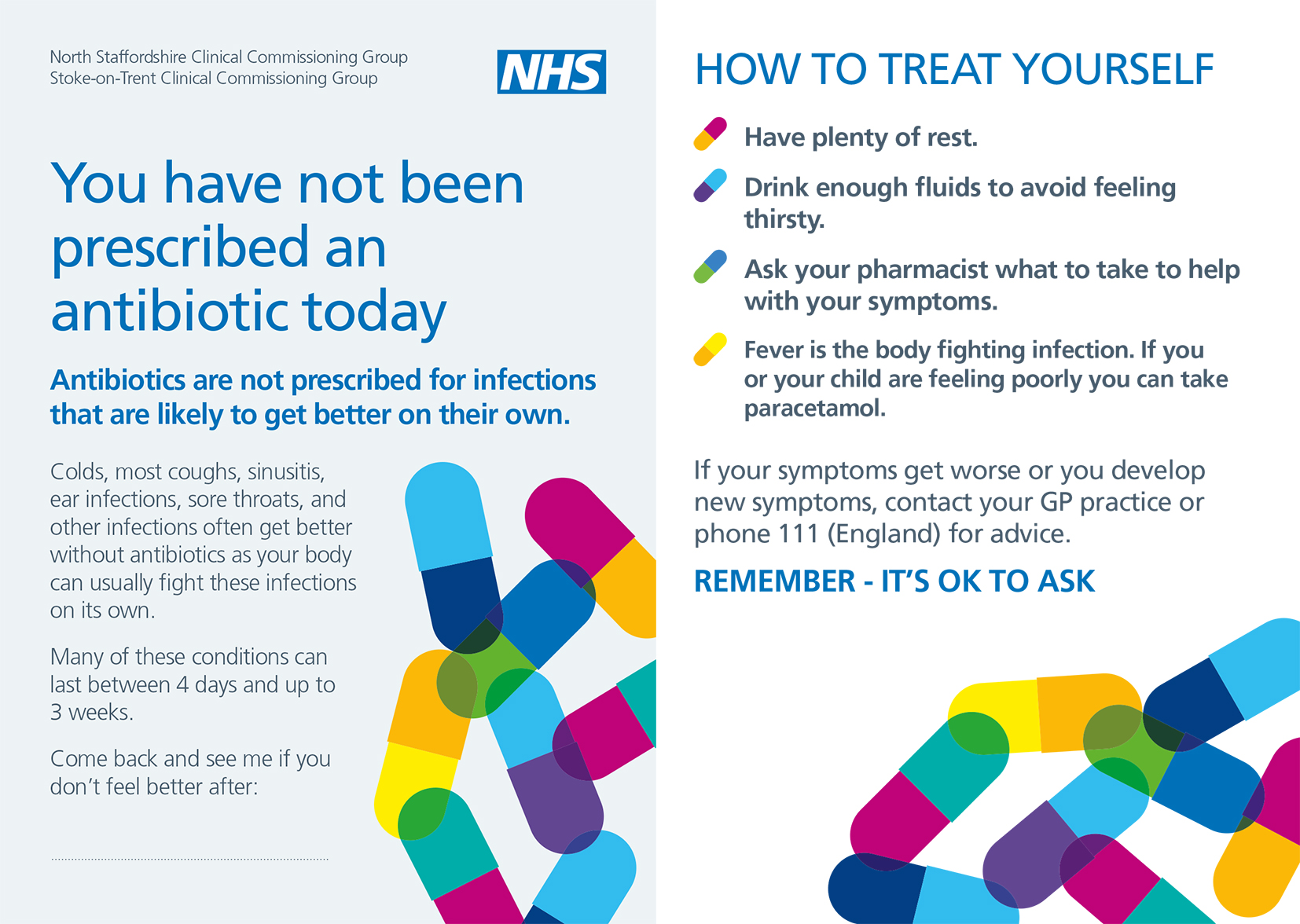 Antibiotic Campaign Postcard image